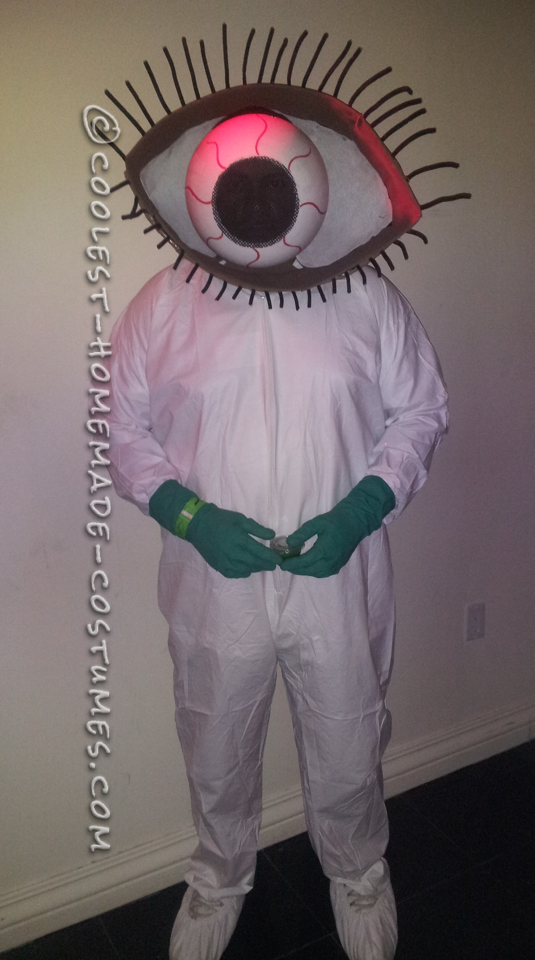 EYE Bola Treatment Lab Worker Costume