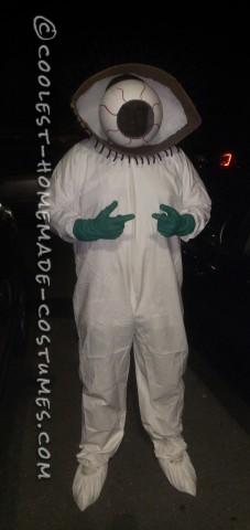 EYE Bola Treatment Lab Worker Costume