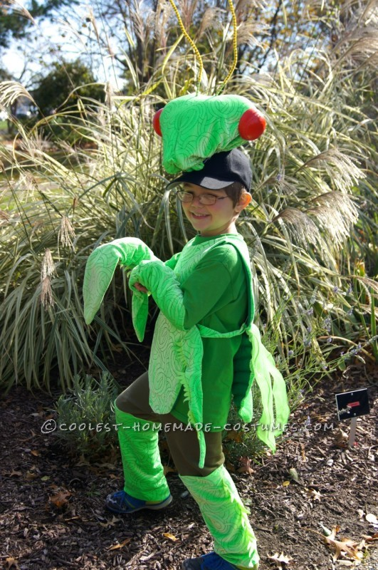 His favorite costume ever