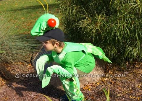 Fabulous and Original Homemade Praying Mantis Costume
