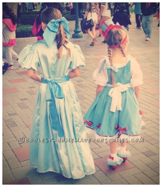 Fanciest Dorothy and Tin Man Costumes Ever!