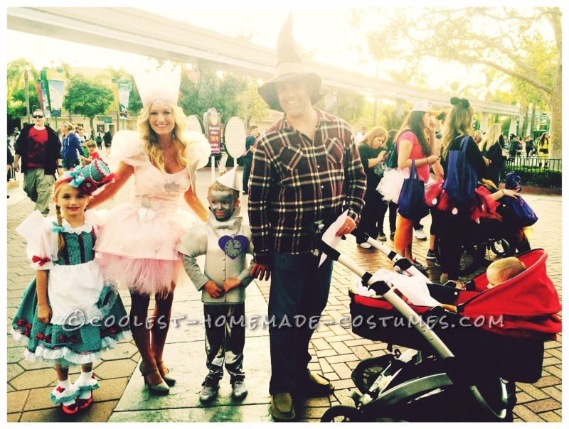 Fanciest Dorothy and Tin Man Costumes Ever! - 2