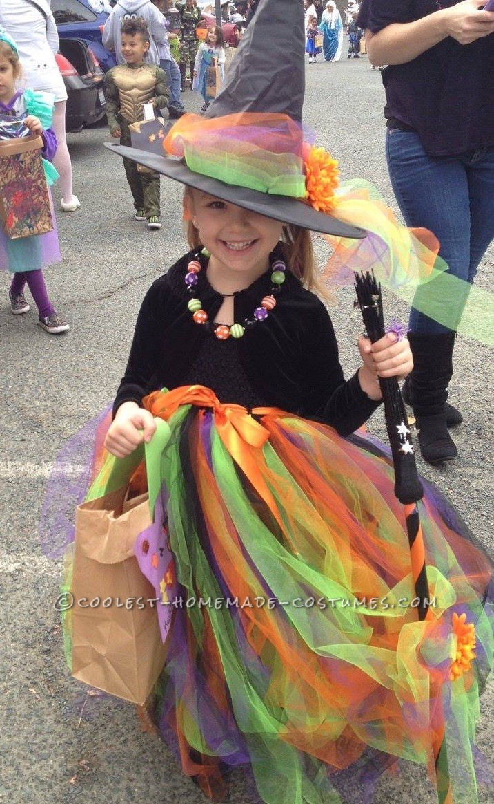 Coolest Homemade Fancy Witch Costume
