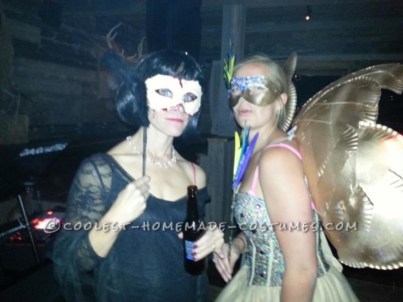 Homemade Fantasy Woodland Fairy Costume