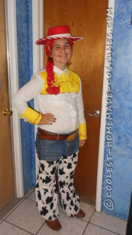Fast and Easy Toy Story Jessie Costume