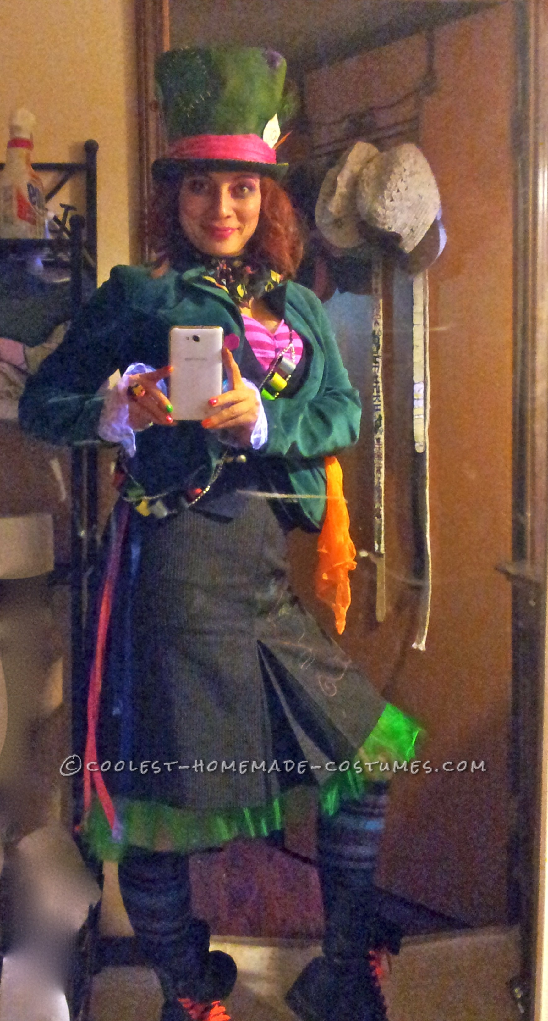 Awesome DIY Female Mad Hatter Costume