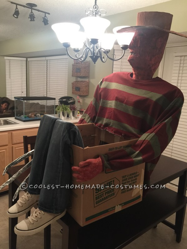 Cool Freddy Krueger's Victim Illusion Costume