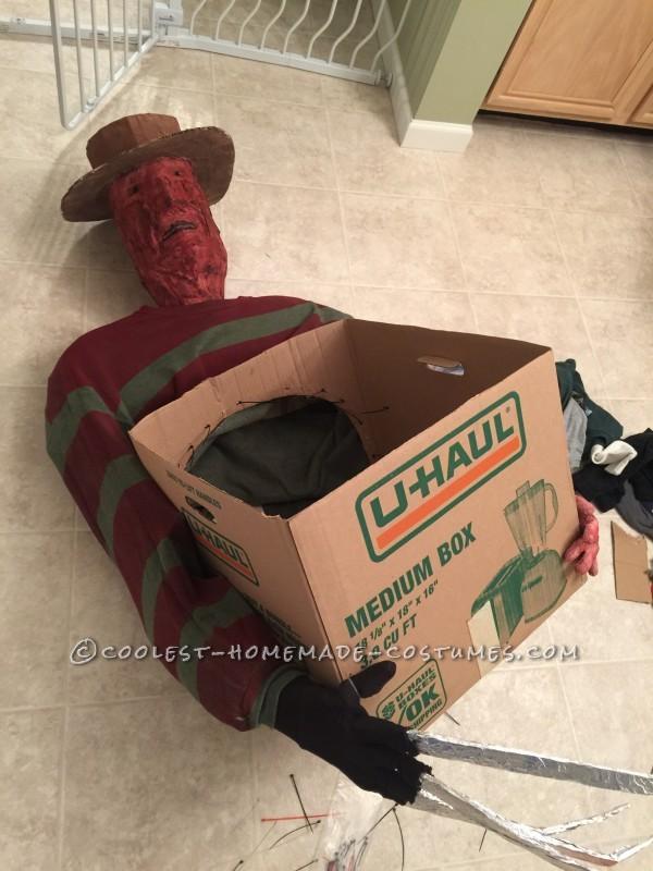 Cool Freddy Krueger's Victim Illusion Costume - 6