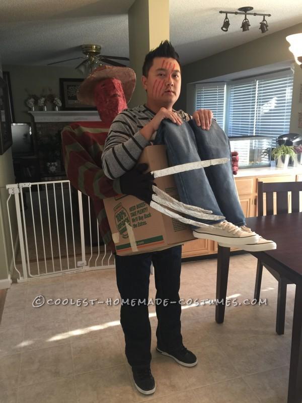 Cool Freddy Krueger's Victim Illusion Costume - 7