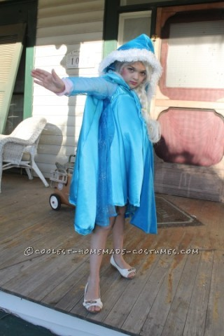 Frozen Elsa Costume That Warmed My Six Year Old