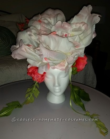 Flower headpiece Front