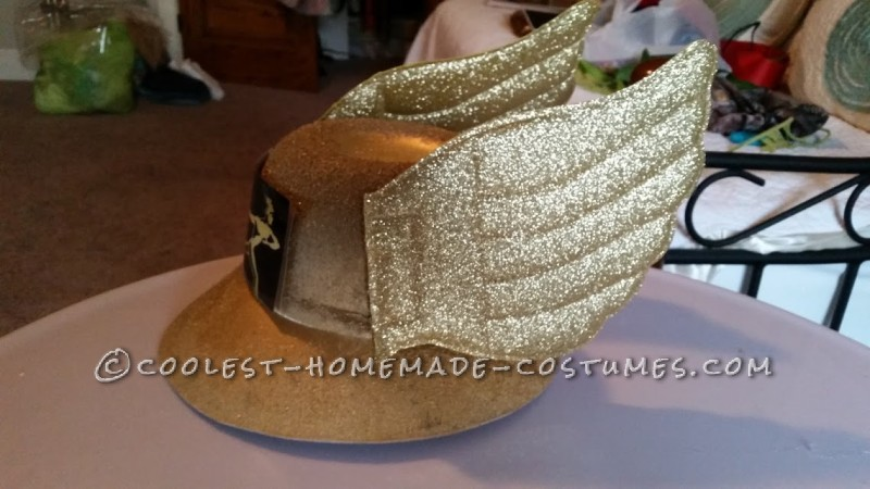 FTD Gold hat with wings