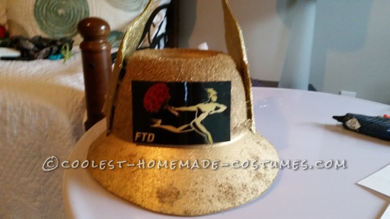 FTD Gold hat with logo