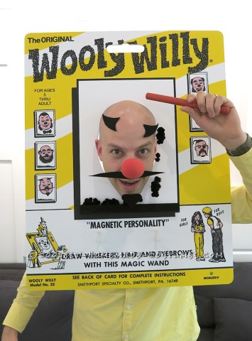 Fully Interactive Wooly Willy Costume