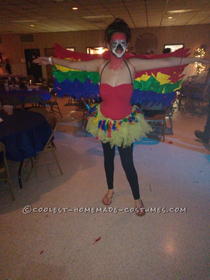 Funniest Female Parrot Costume