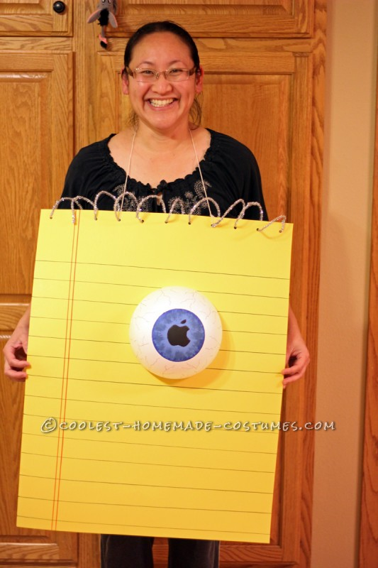Punniest Homemade EyePad (iPad) Costume Ever!