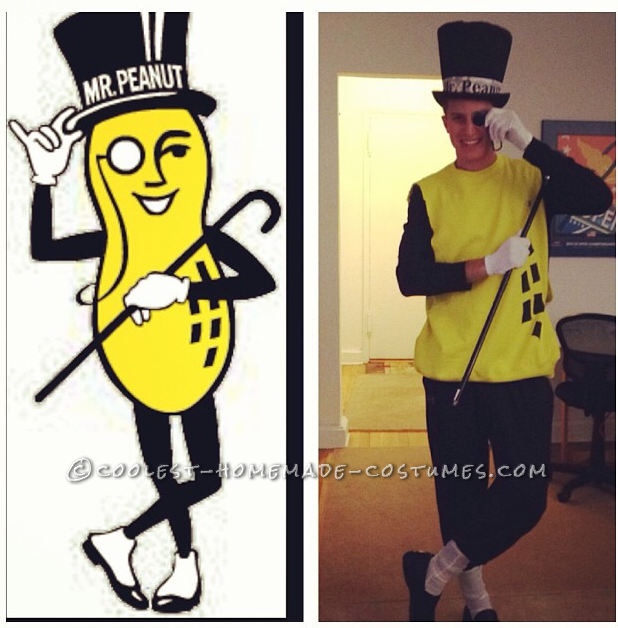 Game-Changing Mr. Peanut Costume