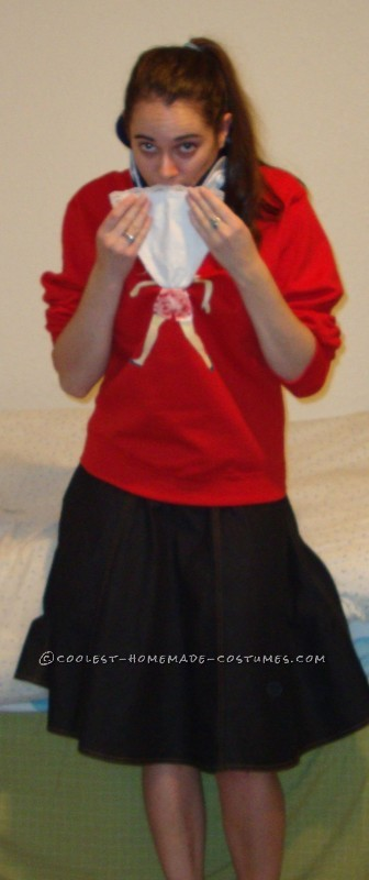 Homemade Geek Girl #1 Costume From Sixteen Candles