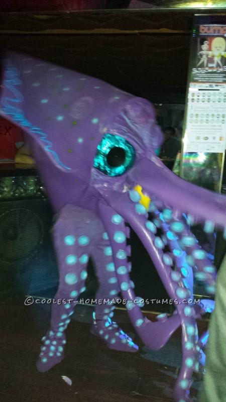 Homemade Amazing Giant Squid Costume