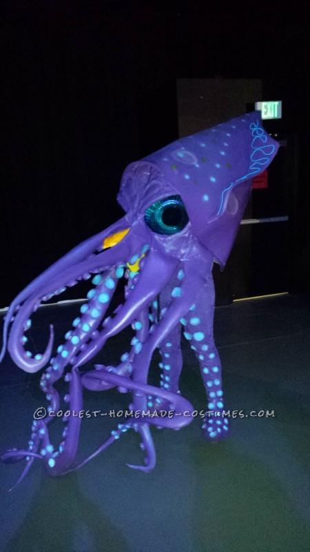 Homemade Amazing Giant Squid Costume - 5