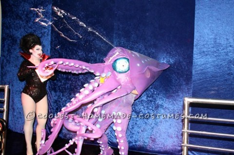Homemade Amazing Giant Squid Costume