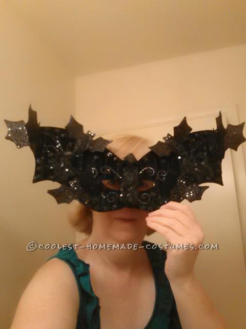 Glamorous Illuminated Bat Lady Costume - 5