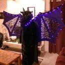 Glamorous Illuminated Bat Lady Costume