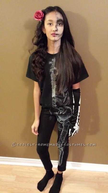 Coolest Homemade Glow in the Dark Skeleton Costume