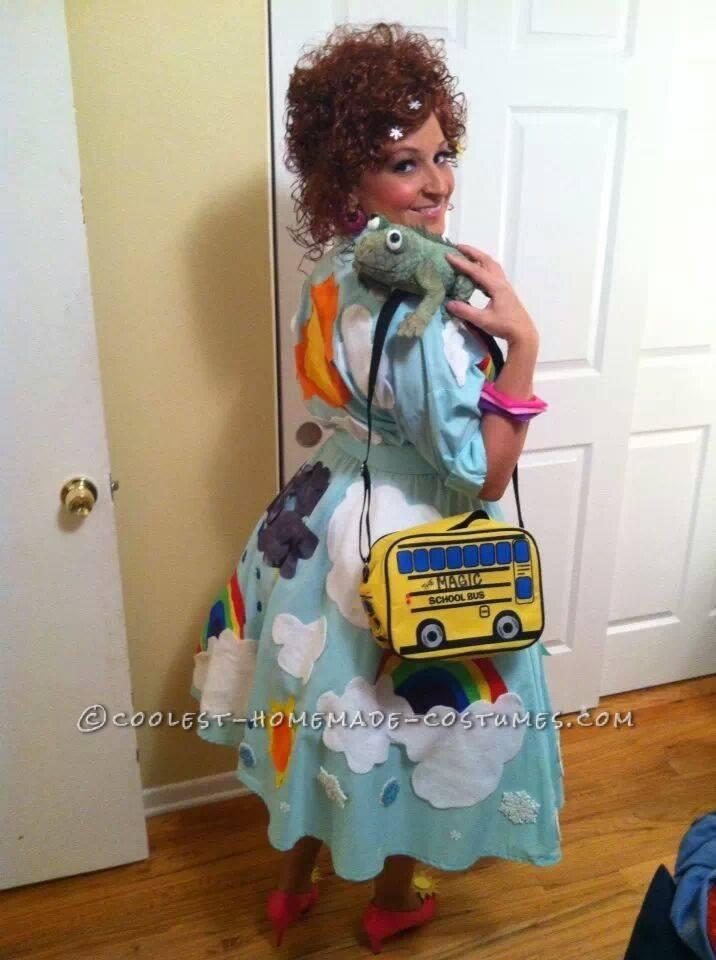 Coolest Homemade Magic School Bus Costume - Go Science!
