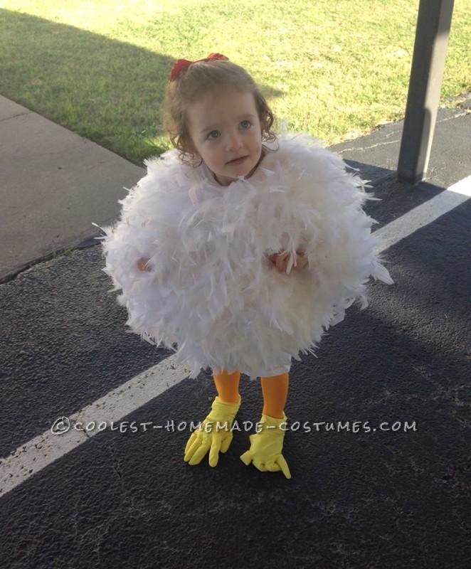 2-Year-Old Chicken Costume