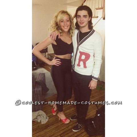 Homemade Danny and Sandy Grease Couple Costume