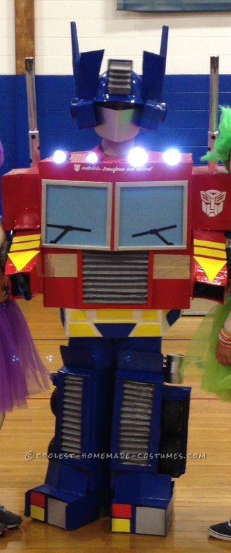 Greatest Optimus Prime Auto Bot Costume