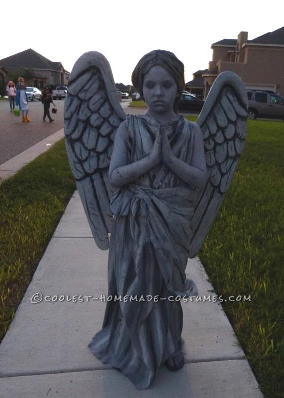 Sweet Guardian Angel Statue