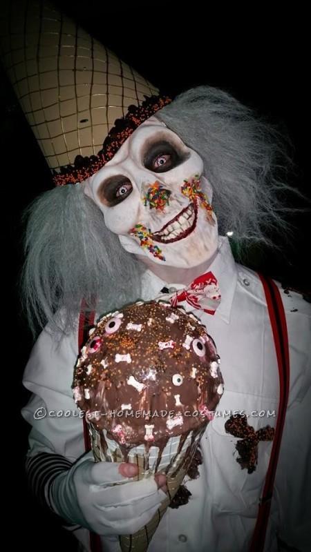 Ice Cream Man makeup