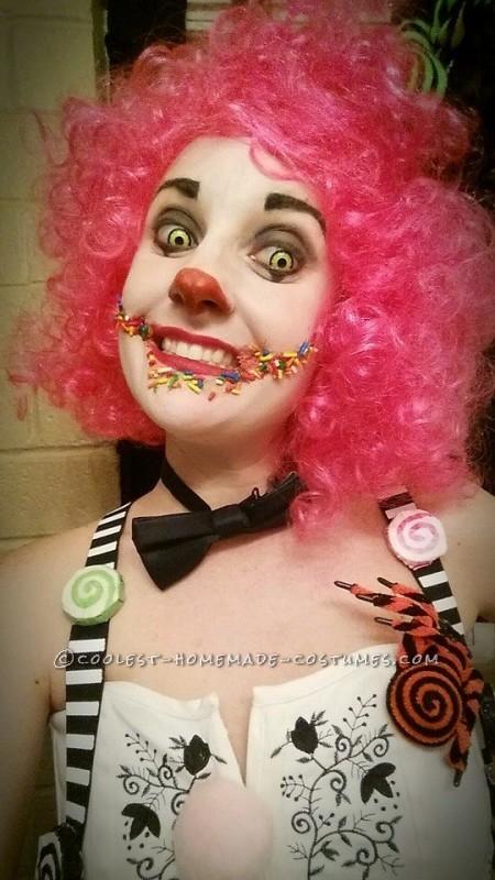 Candy Clown makeup