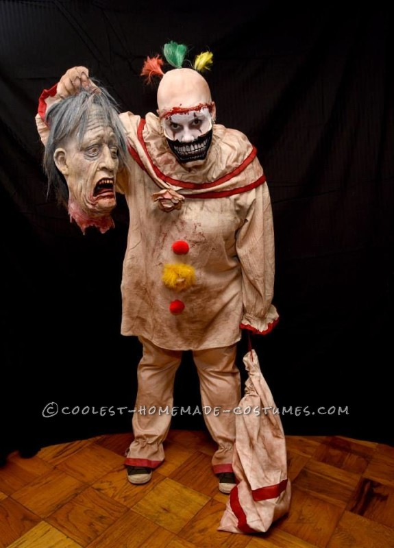 Super Creepy Handmade Twisty Costume from American Horror Story