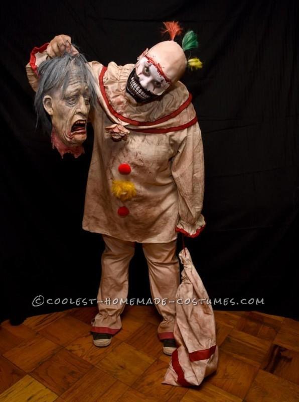 Super Creepy Handmade Twisty Costume from American Horror Story - 1