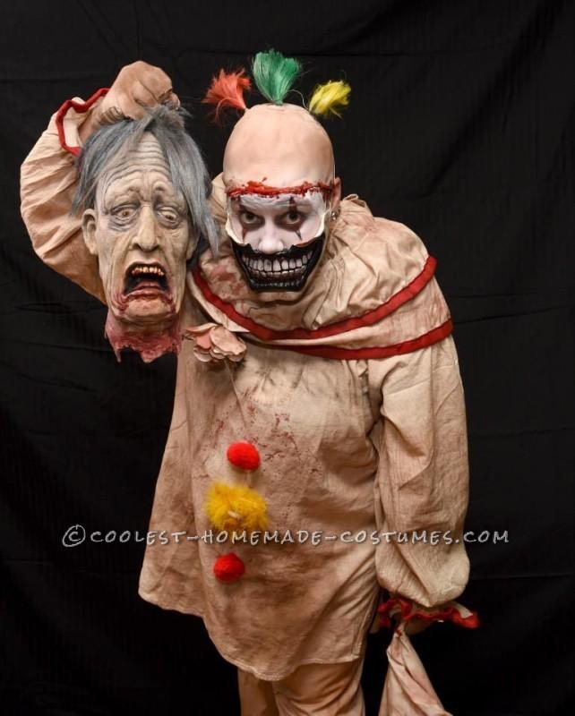 Super Creepy Handmade Twisty Costume from American Horror Story - 3