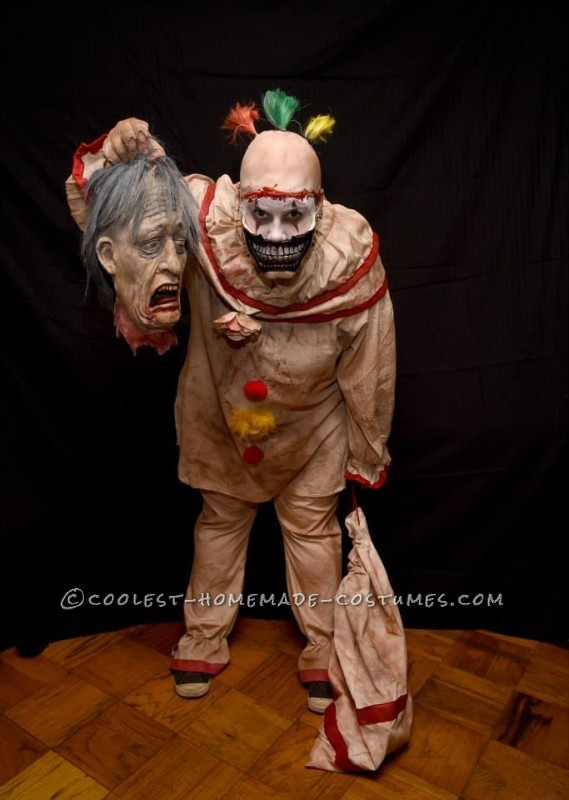 Super Creepy Handmade Twisty Costume from American Horror Story - 5
