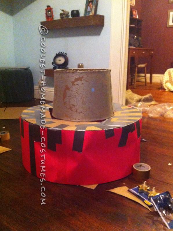 DIY Happy Birthday Mr. President Costume - 2