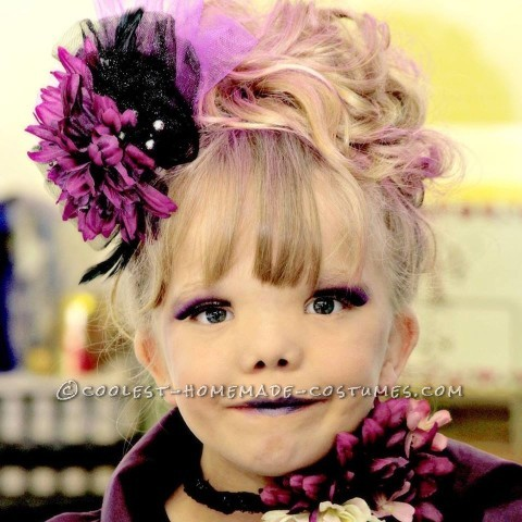 Cute Effie Trinket Costume from Hunger Games