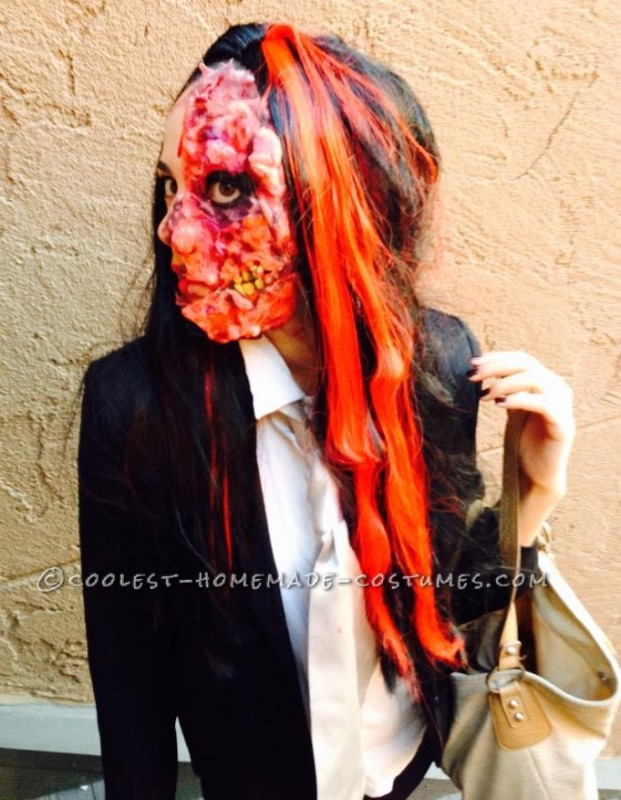 Gory Harvey Dent Two Face Costume - 1