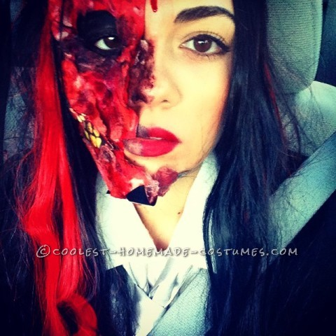 Gory Harvey Dent Two Face Costume