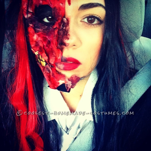 Gory Harvey Dent Two Face Costume - 2