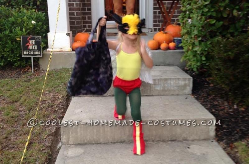 Coolest Homemade Hawk Girl Costume