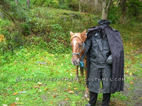 Creepy Headless Horseman Costume