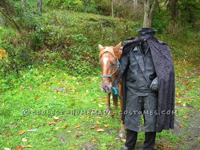 Creepy Headless Horseman Costume