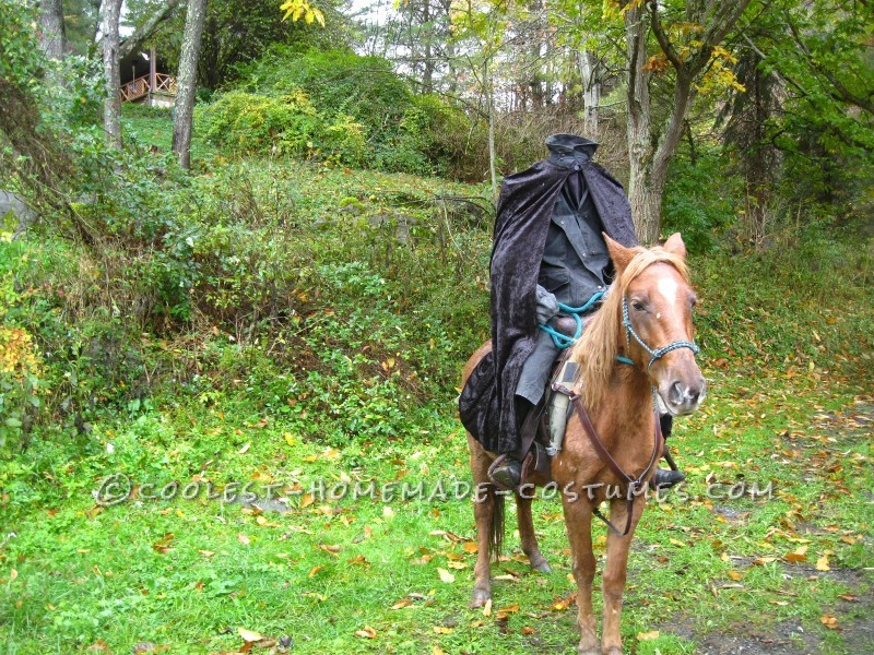 Creepy Headless Horseman Costume - 1