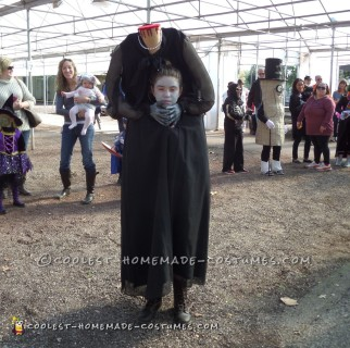 Creepy Headless Woman Costume