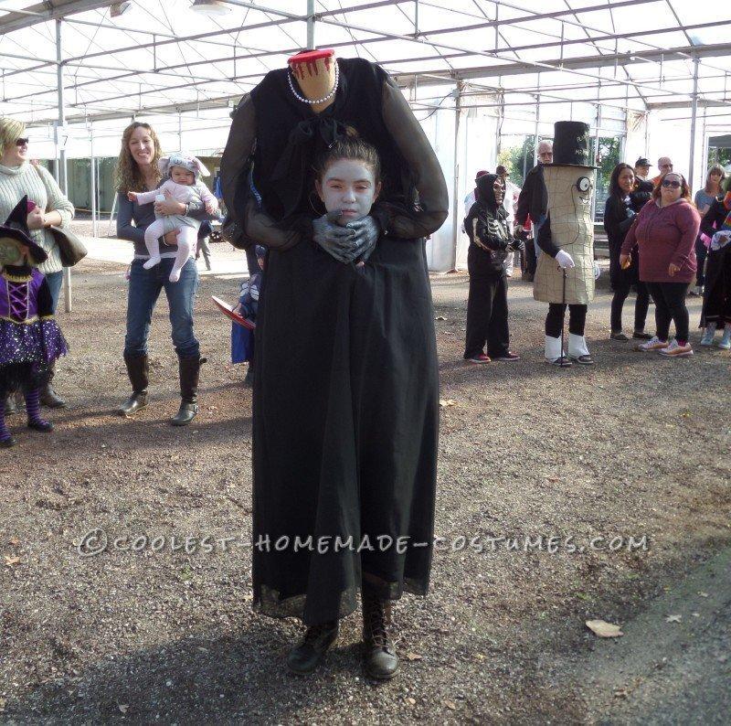 Creepy Headless Woman Costume